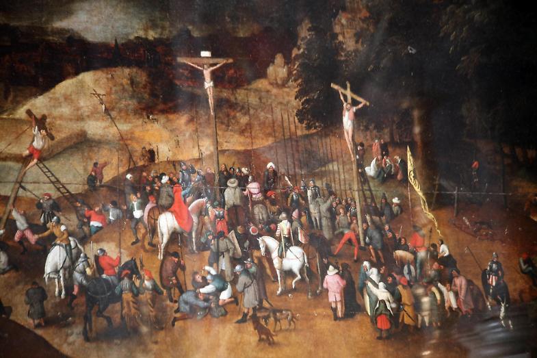 Furto di opere d'arte, rubata la Crocifissione di Bruegel il Giovane