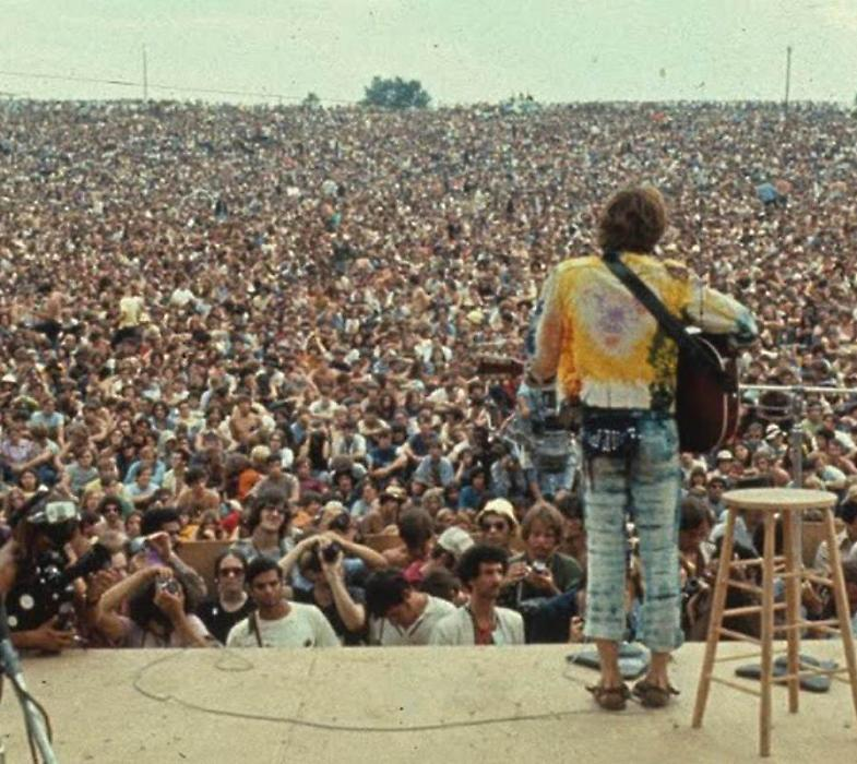 50 anni Woodstock, mostra A.Rothschild