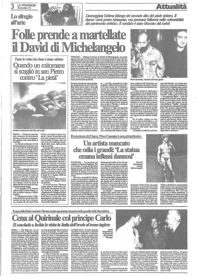 Il David tra negazionismo e complottismo: rettiliani, giganti e altre strane teorie sulla scultura di Michelangelo