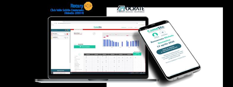 Coronavirus: nasce ComeSto, l'app gratuita per monitorare il proprio stato di salute