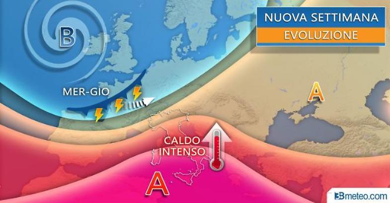 Previsioni meteo: si avvicina il Solleone, severa ondata di caldo alle porte