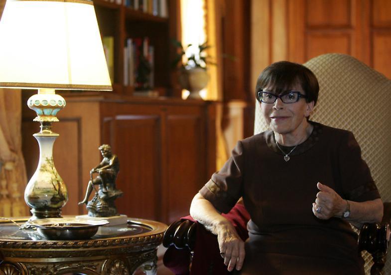 Addio a Franca Valeri, aveva ricevuto una laurea da UnivAq