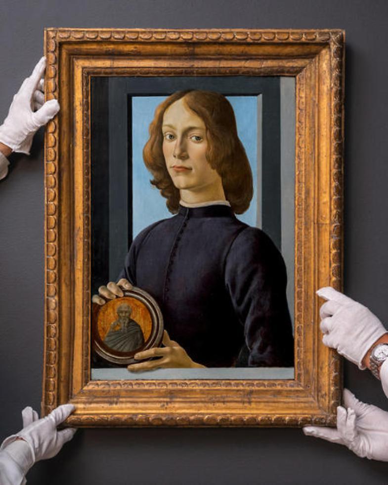 Botticelli da record all'asta: venduto al telefono per 92 milioni di dollari