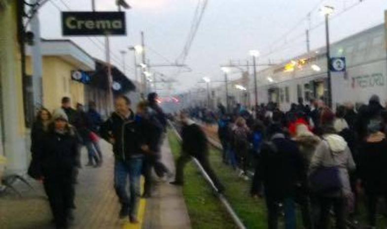 Guasto agli impianti tra Soresina e Castelleone, treni in ritardo