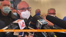 """Maltempo, Curcio a Catania: """"Non è finita, tenere alta l'attenzione"""""""