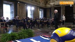 """Mattarella riceve Nazionali volley """"Un esempio per l'Italia"""""""