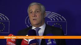 """Tajani """"Berlusconi sarebbe un eccellente capo di Stato"""""""