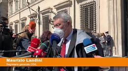 """Landini """"Accordo indica centralità del lavoro pubblico"""""""