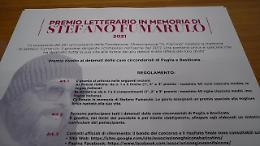 """Puglia, presentato il premio letterario """"Stefano Fumarulo"""""""