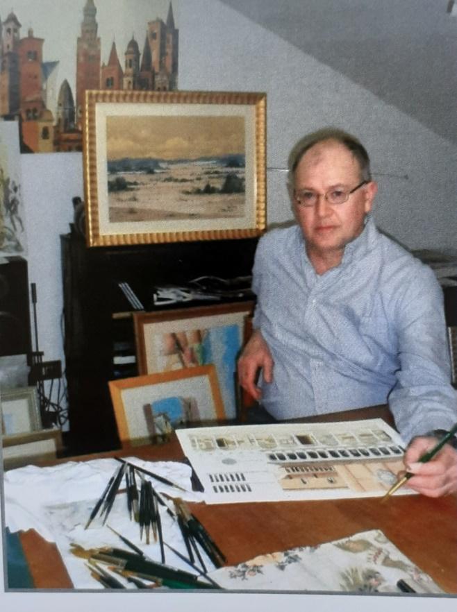 L'acquerellista Fulvio Fiorini